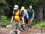 Bill, Beast & Steve walk