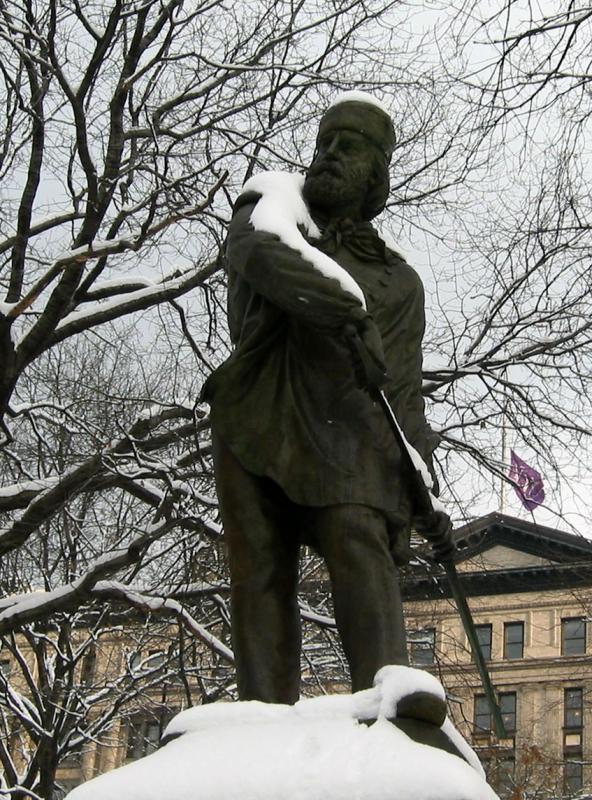 Garibaldi Statue
