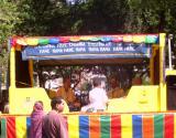 Hare Krishna Festival Music Truck