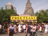 Hare Krishna Festival - Free Food Stand
