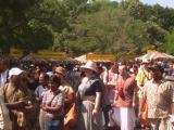 Hare Krishna Food Line Detail