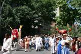 Approaching Washington Square Park