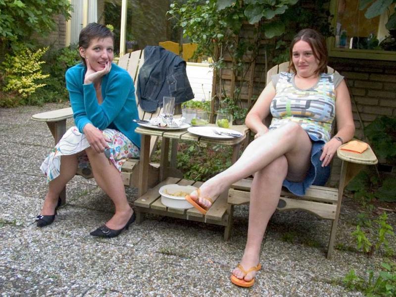 Simone en Judith