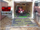 I USED A 12 V BOOSTER BATTERY TO POWER THE INTERIOR LIGHTS ON MY OLD MOTORCYCLE TRAILER, CLICK ON NEXT TO SEE HOW