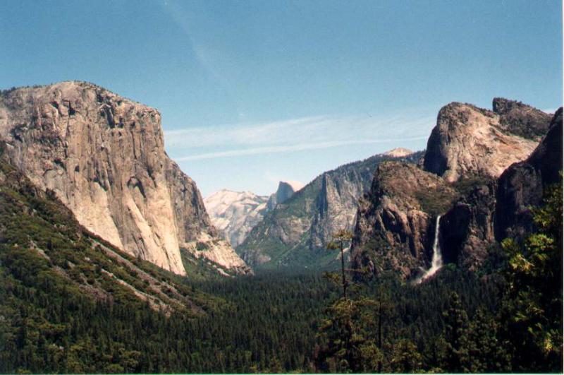 Glacial Valley in Yosemite