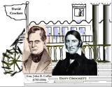 Gen. Coffee Helped Davy Crockett Launch Steamboat - Both Died In 1836