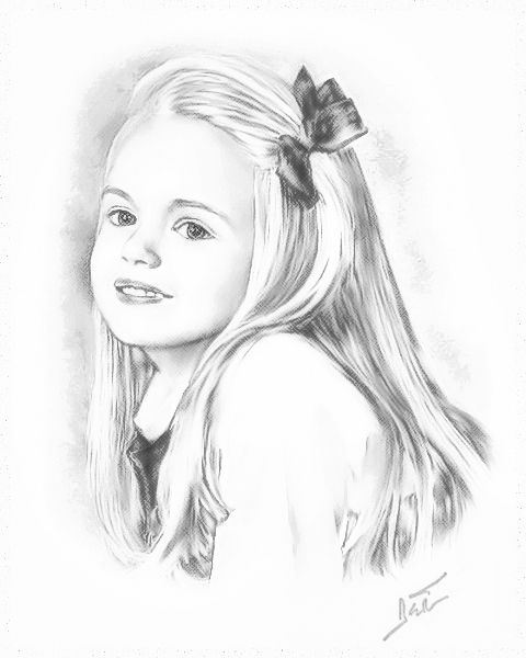 Bayleigh - Pencil Sketch -