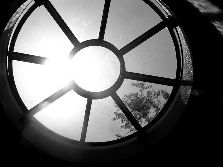 August 4 - sunlit skylight