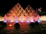 Pyramid Fountains - Kodak Pavilion