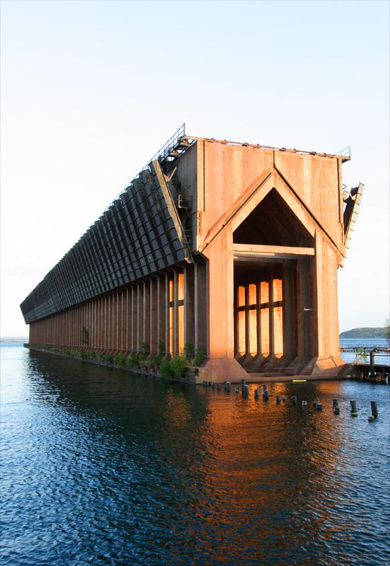 ore dock. lower harbor