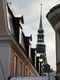Spire Over Roofs