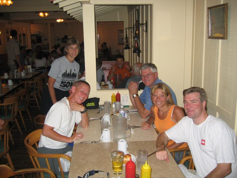 Dinner at Furnace Creek (Whos that in the background?)