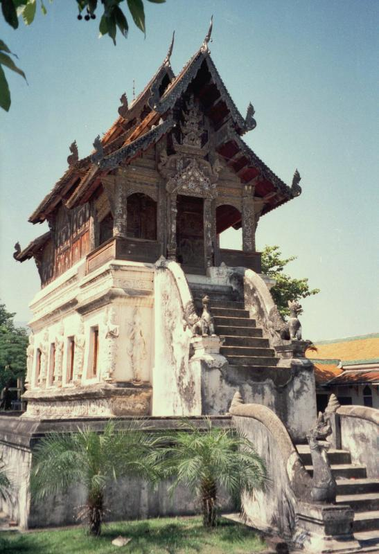 Aged Temple