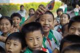 Chinese Schoolchildren on an outing 1