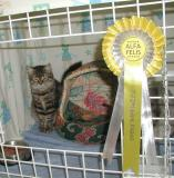 Hulda's result - Ex1 and Nominated for Best in Show