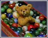 Mr. Bear Takes His Marble Bath