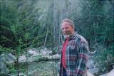Don hiking in the wilderness several years ago