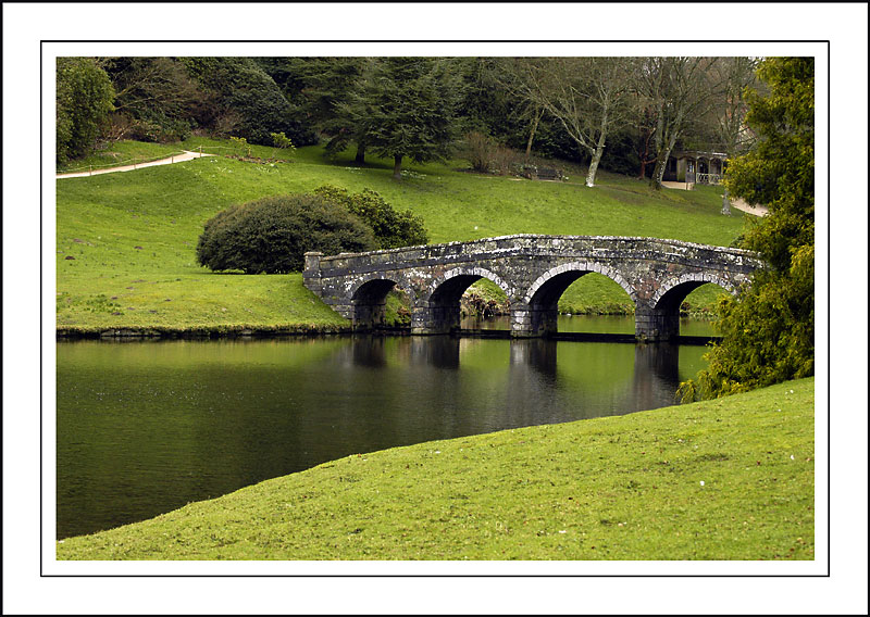 The Turf Bridge ~ Stourhead
