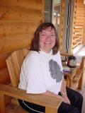 Tammy White * at Mormon lake