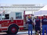 Avondale Fire Dept. training in Mesa Arizona USA