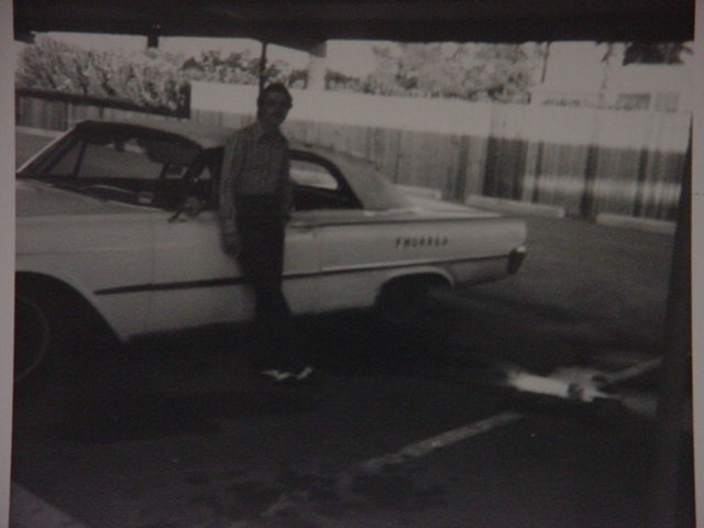 me and my Fhorred (Ford)<br> w/ brown and white spats
