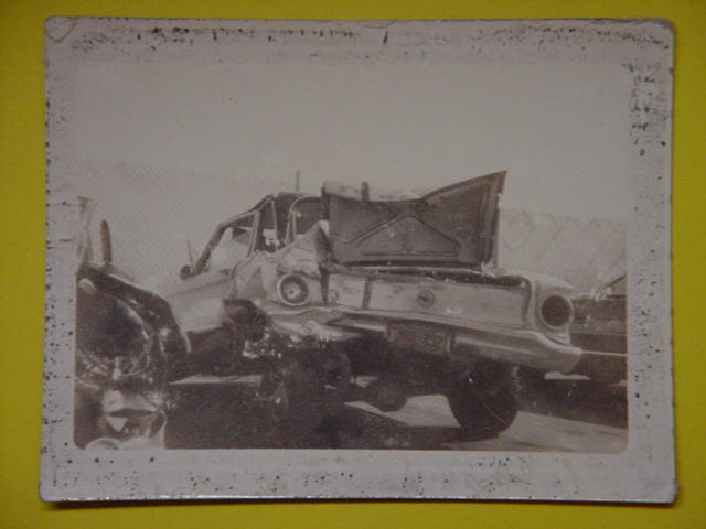 Rose Arwana Rogers<br>wrecked my 1963 ? <br> Ford Falcon in 1971