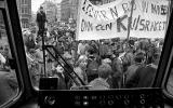 Students protest against nuclear weapons