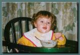 Evelyn Eating