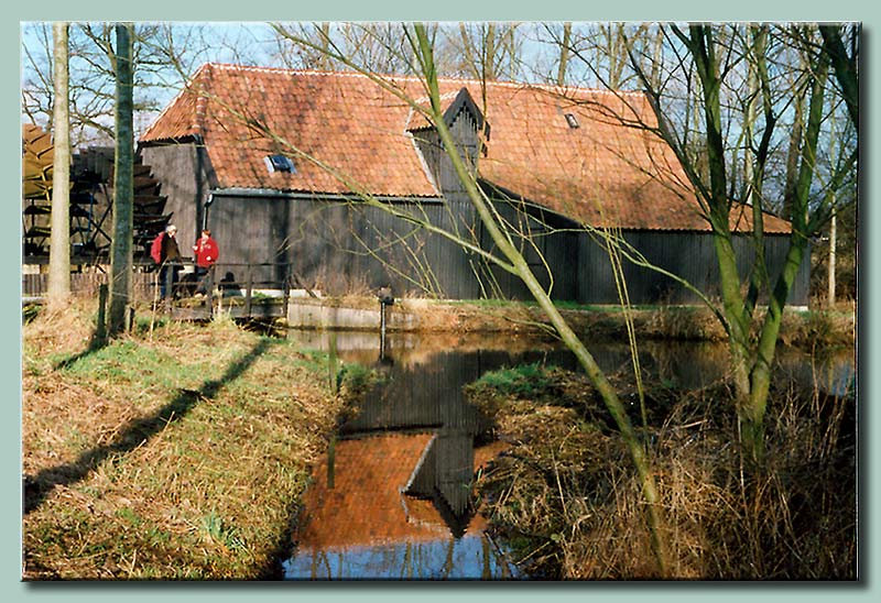 One of the Van Gogh watermills near Nuenen