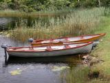Boats at Kylemore Lough - Kylemore Abbey (Co. Galway)