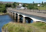 Gweebarra Bridge, entering Lettermacaward  (Co. Donegal)