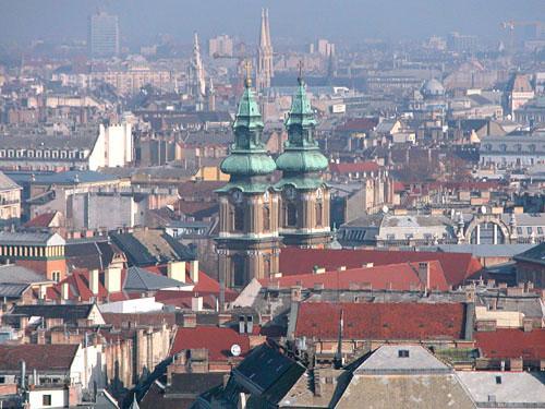 Serbian Church (?) (view from Gellért Hill)
