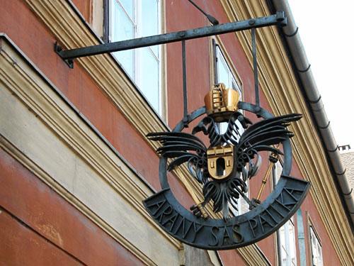 Golden Eagle Pharmacy (Arany Sas Patika), a museum of 16th-17th century apothecary equipment.