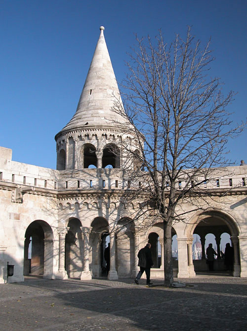 Fisherman´s Bastion (not really built as military structure, but as a viewpoint over the city)