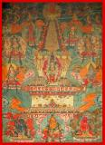Avalokiteshvara - (11 faces, 8 hands) Stupa