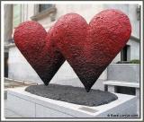 Coeurs jumeaux de six pieds / Twin 6' Hearts