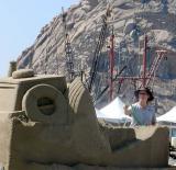 Serious sand castle building