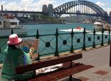 Artist at Quay