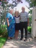 Kitty with Grandparents