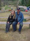 Father & Daughter at Camp