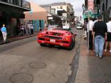 My new Lamborghini parked on Bourbon Street ..
