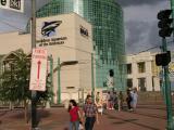 IMAX and Aquarium buildings