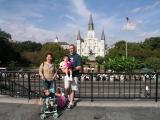 Family photo @ Jackson Square