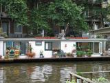 Houseboat in Amsterdam