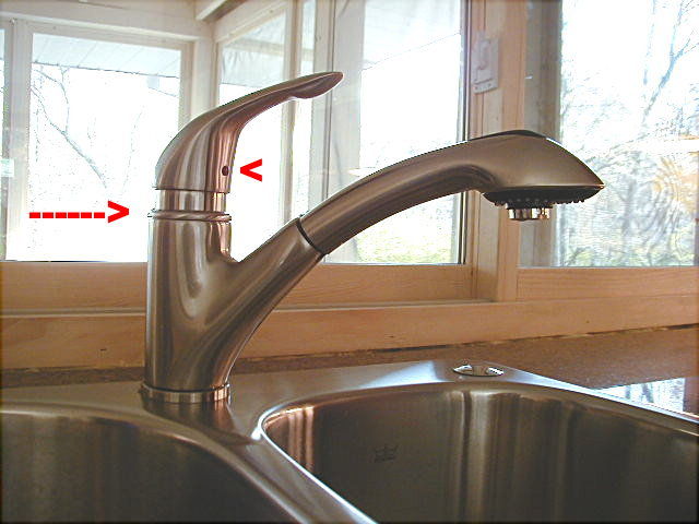 with in handle bar side kitchen faucets faucet home the depot mount stainless n fairmont compressed steel danze single lever b
