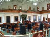 The Senate room, Texas Capitol, Austin