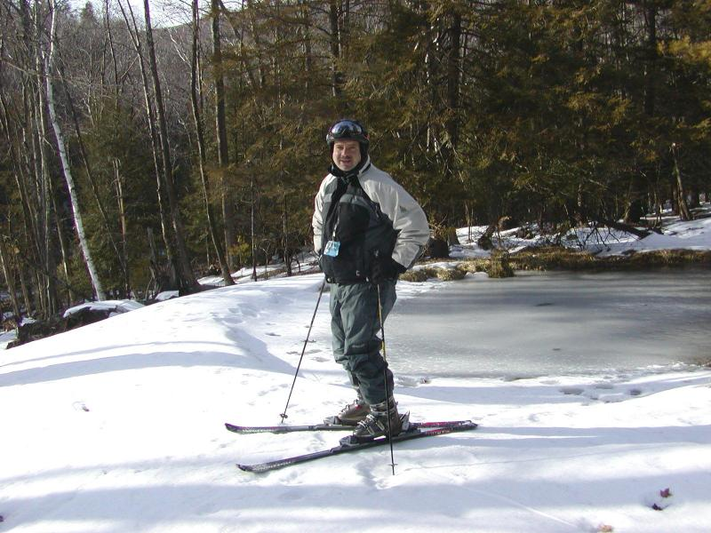 Skiing in the Catskills