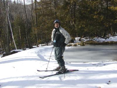 Skiing in the Catskills