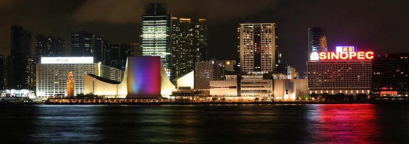 Tsim Sha Tsui with Victoria Harbour