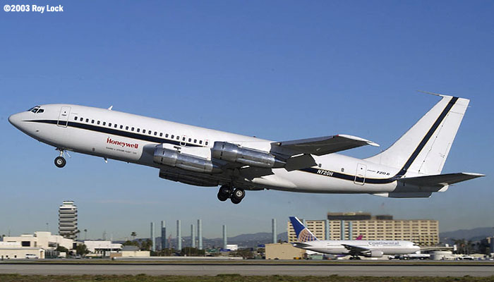 Century of Flight Celebration at LAX - Honeywell B720B
